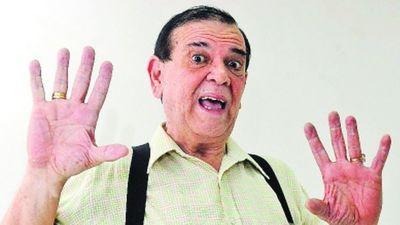 El arte de luto: Carlitos Vera  llevó su  humor y sus mil voces al cielo
