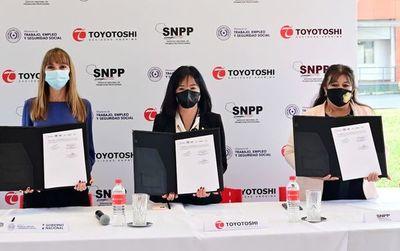 Toyotoshi firmó con MTESS y SNPP