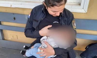 San Lorenzo: Una policía amamantó al bebé de una aprehendida