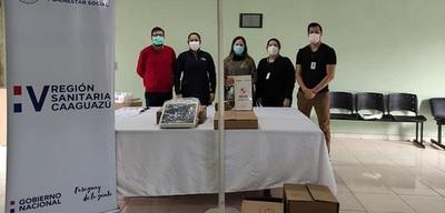 Entregan nuevos equipos UTI de Coronel Oviedo