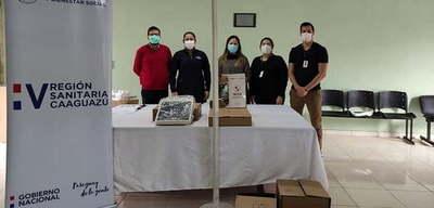 Entregan nuevos equipos UTI al Hospital de Coronel Oviedo