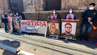 """""""La Justicia acá vale una mierda para los comunes"""", dice madre de Samuelito"""