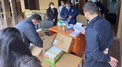 Hospital de Coronel Oviedo recibió lote de equipos para UTI