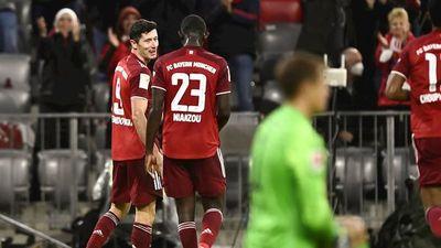 Robert Lewandowski abruma al Hertha