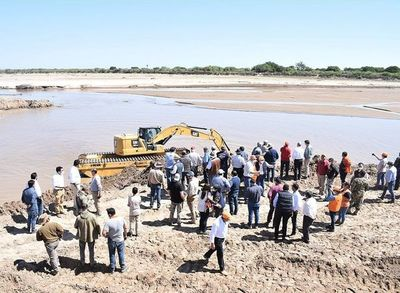 Conmemoran dos años de ingreso ininterrumpido de las  aguas del Río Pilcomayo al territorio nacional