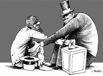 La estructura vs la clase media acomodada