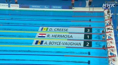 Nadador paraguayo debutó en los Juegos Paralímpicos: Así le fue