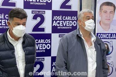 Presidente Alegre: hay que trabajar en unidad para que José Carlos Acevedo sea ganador como dicen las encuestas y la gente