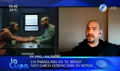 Actor paraguayo estrenó serie en Netflix