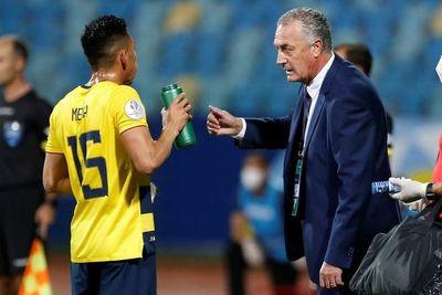 Alfaro convoca en Ecuador a 29 jugadores para triple fecha de eliminatorias