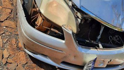 Automóvil protagoniza un accidente fatal y luego es abandonado en CDE