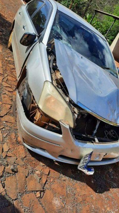 Automóvil protagoniza un accidente, muere una mujer y luego es abandonado en CDE