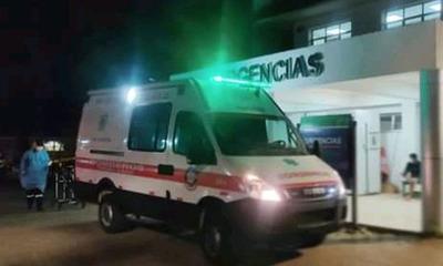 Tras choque de motocicletas hombre sufre mutilación de una pierna en Coronel Oviedo