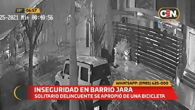 Aumenta la inseguridad en Barrio Jara