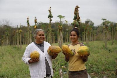 Emprendedora de Tenonderã incursiona en el cultivo del mamón