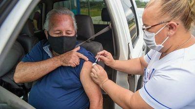 Covid-19: Continúa vacunación de segunda dosis en todo el país
