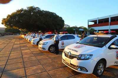 Con habilitación de obras y entrega de vehículos celebran el Día del Agente de Policía