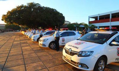 Celebran Día del Agente de Policía con entrega de vehículos