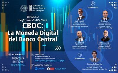 """BCP invita a la conferencia """"CBDC: La Moneda Digital del Banco Central"""""""