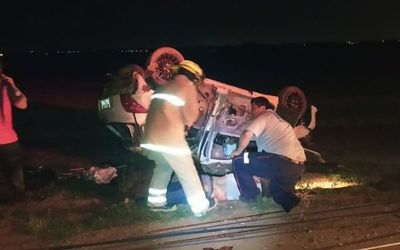 Accidente de tránsito deja dos muertos y un herido en Presidente Franco