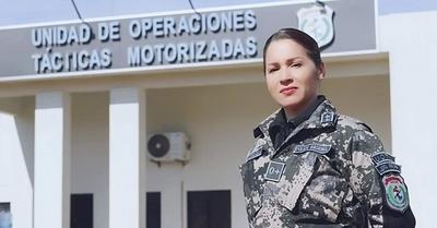 Paola Morínigo, un agente policial fuera de serie