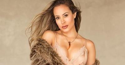El look de Patty Orué que causó furor en su entrevista con Luis Bareiro