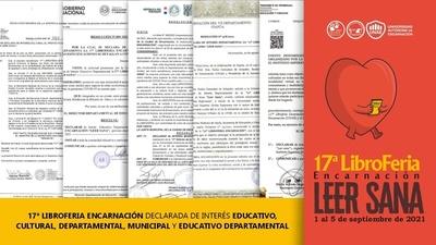 LIBROFERIA ENCARNACIÓN: ¡FALTAN DOS DÍAS PARA LA FIESTA LITERARIA MÁS IMPORTANTE DEL AÑO!