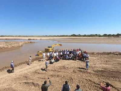 Festejan los 2 años de ingreso ininterrumpido de las aguas del Pilcomayo al territorio paraguayo