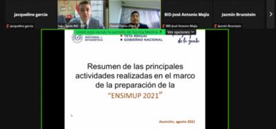 INE presentó informe sobre preparativos de encuesta sobre situación de la mujer