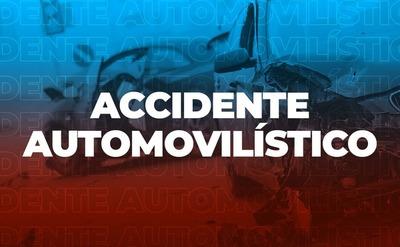 Camioneta chocó a motociclista en Asunción