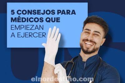 Universidad Sudamericana comparte cinco fundamentales consejos para médicos que empiezan a ejercer la profesión