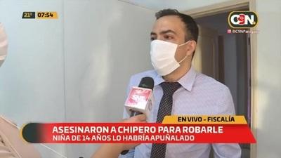 Caso chipero asesinado: Menor de 14 años cuenta con antecedentes