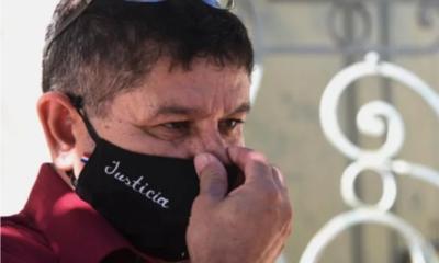 Abuelo de niña desaparecida en Emboscada pide ayuda a la Embajada de Francia