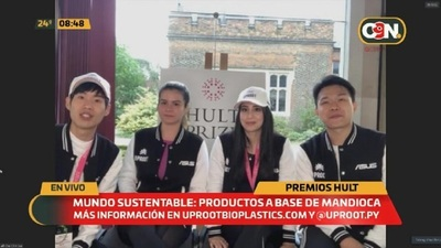 Mundo sustentable: Productos a base de mandioca