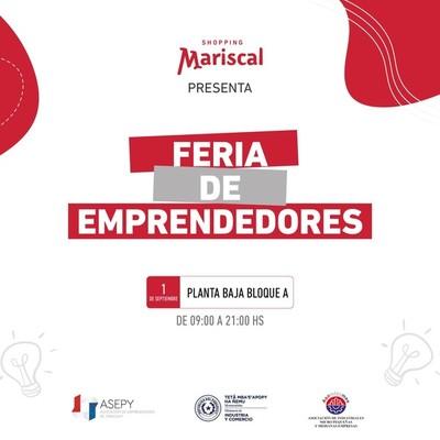 Feria de emprendedores presentará variados e innovadores productos
