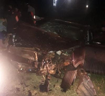 Vuelco de vehículo deja varios lesionados en Minga Guazú