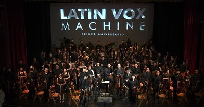 La Nación / Latin Vox, la orquesta que refugió a los músicos venezolanos de Argentina en pandemia