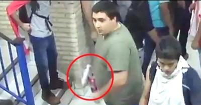 La Nación / Bombas molotov: rechazan chicanas de Stiben Patrón