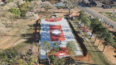 Cordillera ya cuenta con su primera Plaza Deportiva