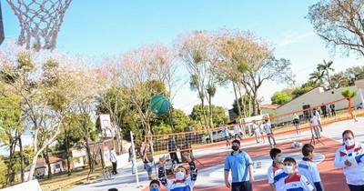 La Nación / SND habilitó Plaza Deportiva en Cordillera