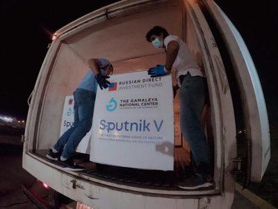 Salud anuncia llegada de un lote de Sputnik V de segunda dosis