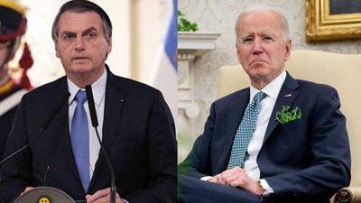"""Bolsonaro afirmó que la """"obsesión"""" de Biden por el tema ambiental afecta a su relación"""