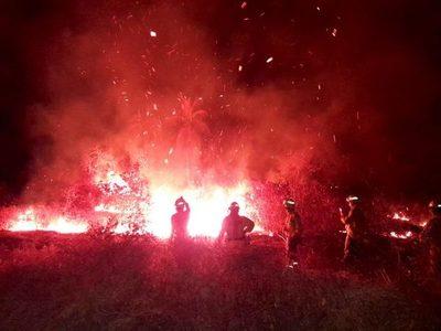 Alto riesgo de incendios continúa para los próximos meses