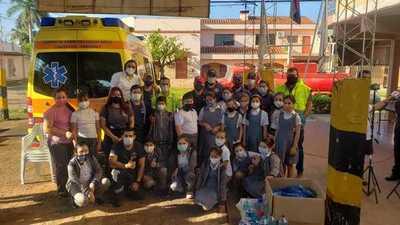 Merecido homenaje a los Bomberos Voluntarios de Concepción