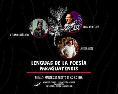 """Ciclo de charlas """"Lenguas de la Poesía Paraguayensis"""" continúa hoy"""