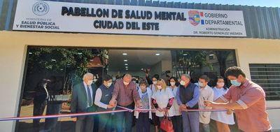 CDE: habilitan primer Pabellón de Salud Mental del interior del país