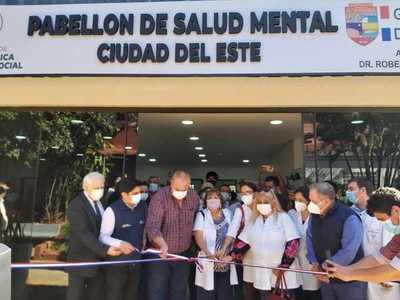 Inauguran Pabellón de Salud Mental en el Hospital Regional de CDE