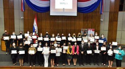 SINAFOCAL entregó certificados y credenciales a 120 nuevos Instructores