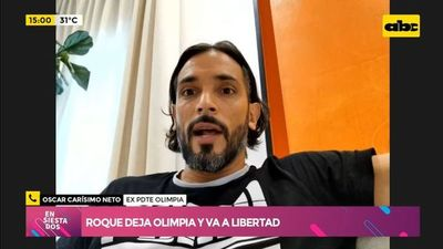 Roque deja Olimpia y va a Libertad