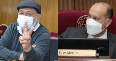 """La Nación / El instigador de invasiones dirigirá el Congreso ante la ausencia de """"Cachito"""""""